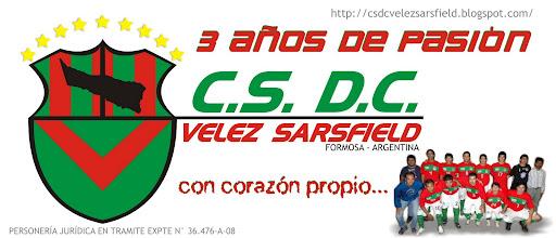 CLUB SOCIAL DEPORTIVO Y CULTURAL VELEZ SARSFIELD FUTSAL - FORMOSA - ARGENTINA