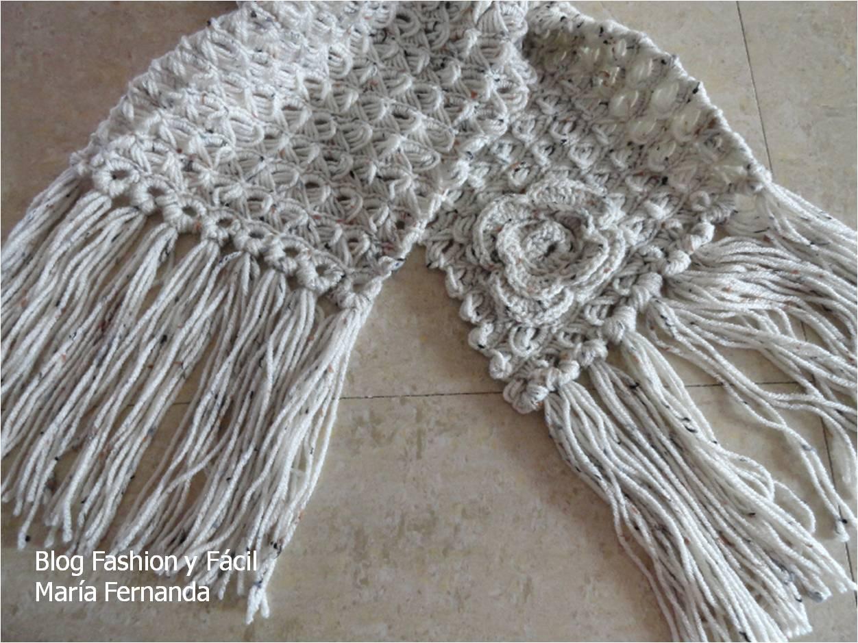 Fashion y Fácil : Cómo hacer una bufanda de punto peruano 1. Una ...