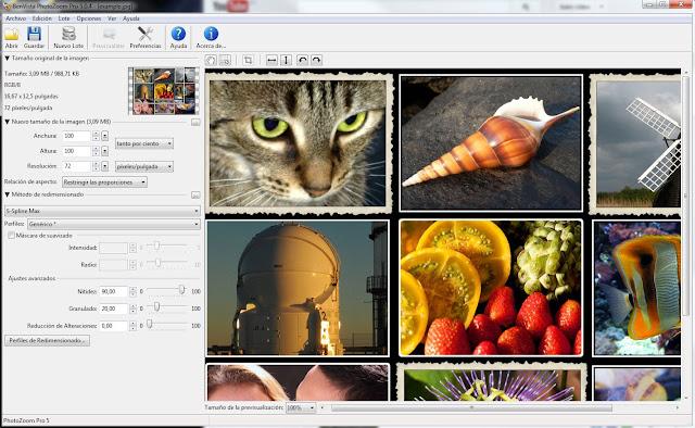 Скачать Benvista PhotoZoom Pro 5.0.2 MLRus Portable. Год выпуска: 2012 Пла
