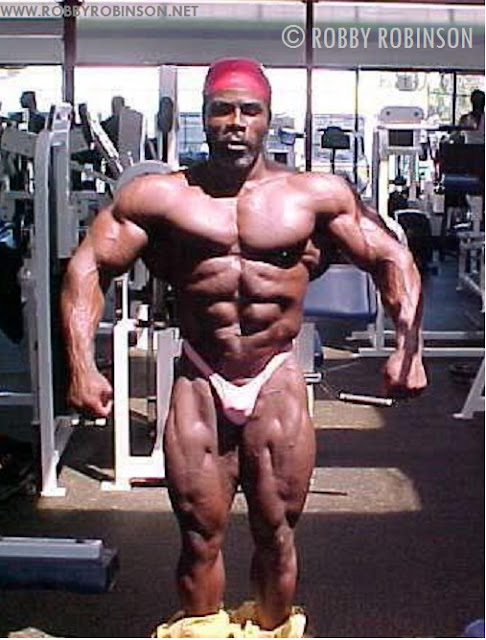 ROBBY ROBINSON - WORLD GYM 2006