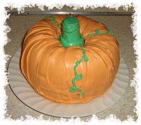 How Do You Make A Pumpkin Shaped Cake