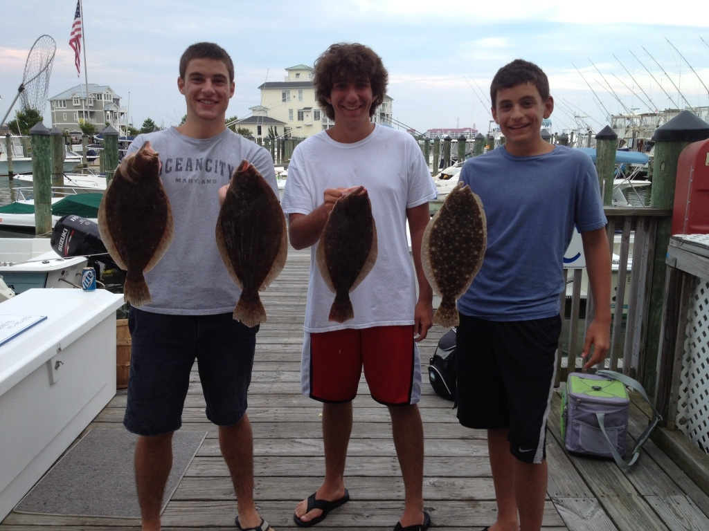 July 31 2013 daily reports news ocean city fishing center for Ocean city fishing center