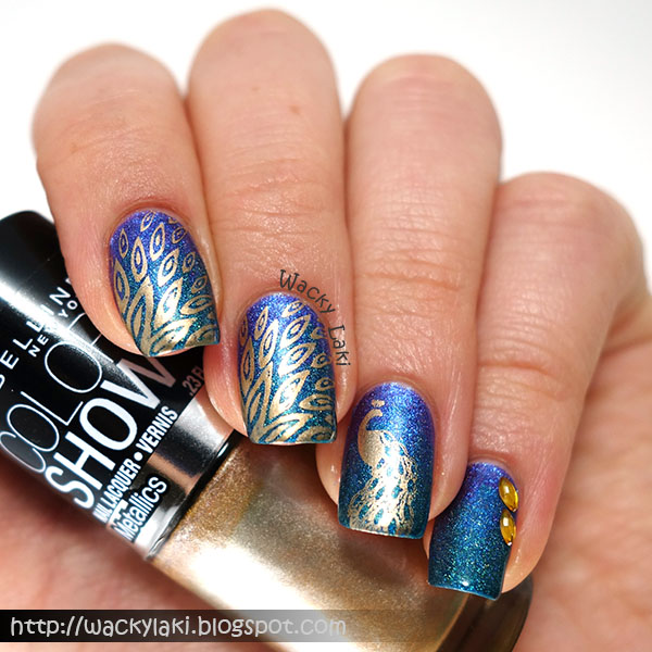 Exotic Peacock Nails