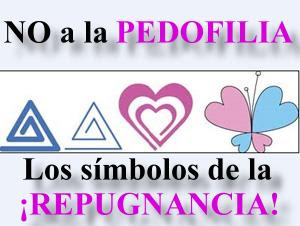 simbolos de pedofilia