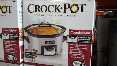 Have comfort food for dinner with the Crock-Pot SCCPVC609-SC Slow Cooker