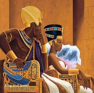 African king and queen