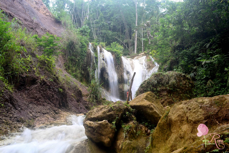 Air Terjun Mbang Soka Kembang Soka Queen Of Waterfall Nya Jogja Miss Risna