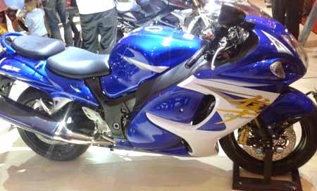 gambar motor Suzuki hayabusa 2015