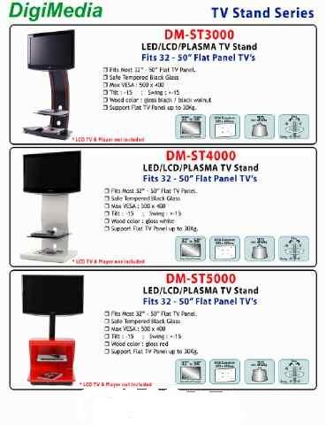 bracket stand dvd digimedia portable. Black Bedroom Furniture Sets. Home Design Ideas