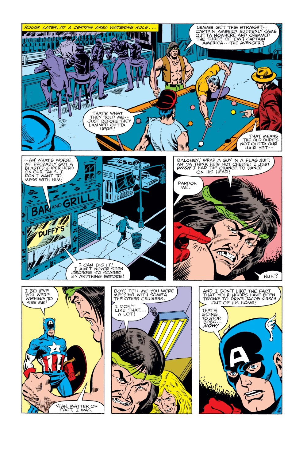 Captain America (1968) Issue #240 #155 - English 5