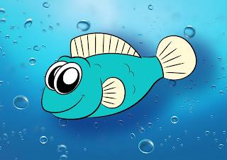 How To Draw A Cartoon Fish