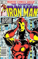 Iron Man #170 comic pic