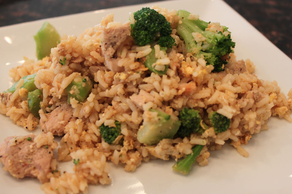 Kelly's Healthified Kitchen: Pork Fried Rice