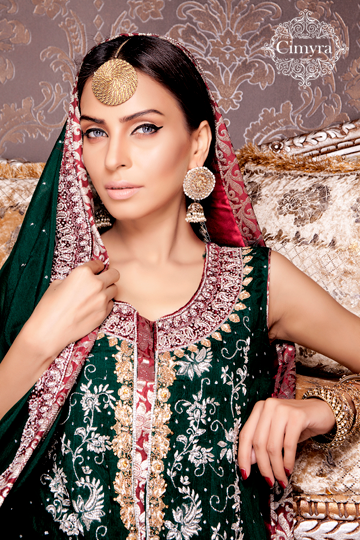 Cimyra Party Wear Winter Collection 2013-14 For Women And Girls