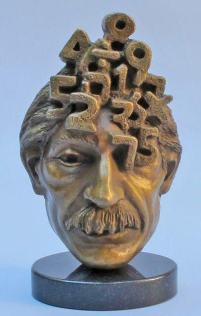 Michael Alfano esculturas de corpos rostos surreais bronze cobre Numerado