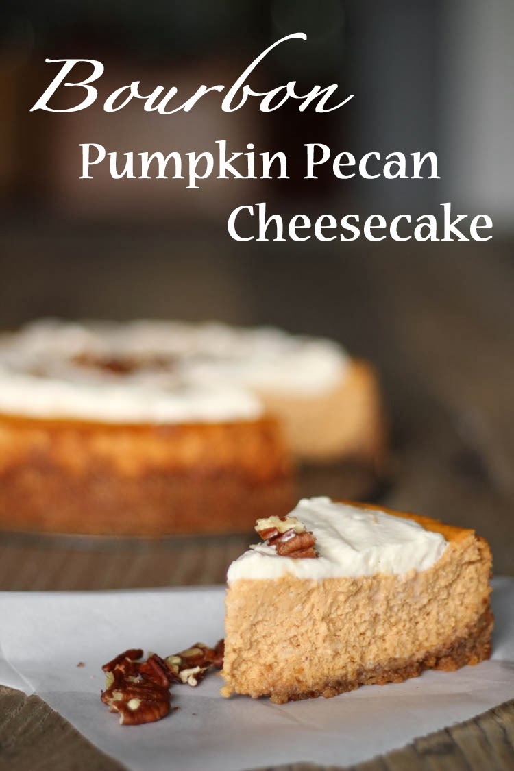 FashionEdible: Bourbon Pumpkin Pecan Cheesecake