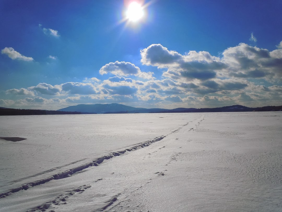 Fresh Tracks on Lake Sunapee