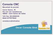 Consola CNC