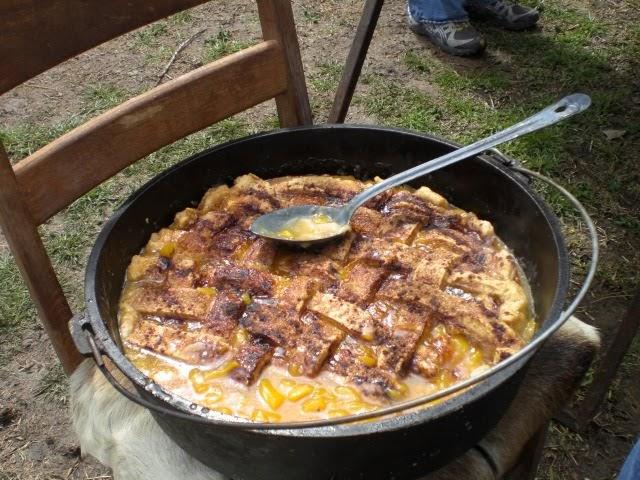 Chuck Wagon Recipes Chuck Wagon Peach Cobbler