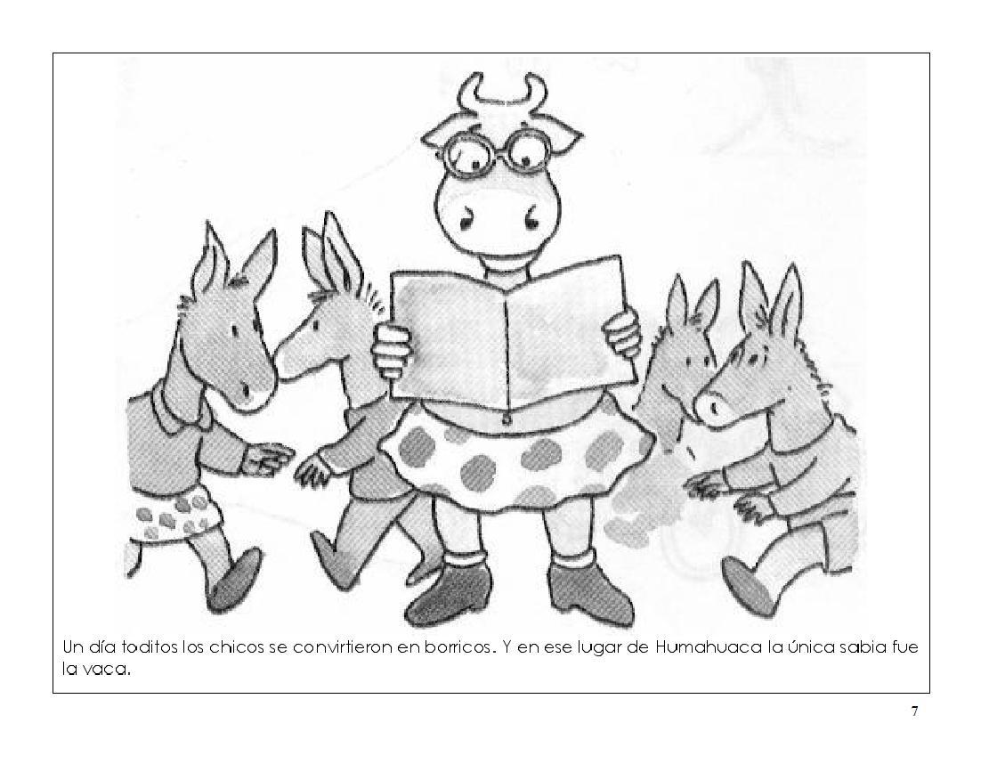 Rayito de Colores: La vaca estudiosa