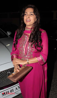 Juhi Chawla Latest Pictures in Pink Salwar Kameez at Akmunshi Yojna Ngo Event  0002