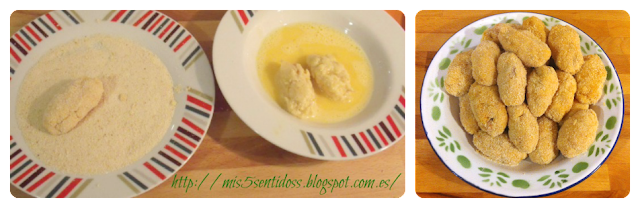 Croquetas atún y quesitos Thermomix