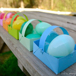DIY Easter Paper Baskets