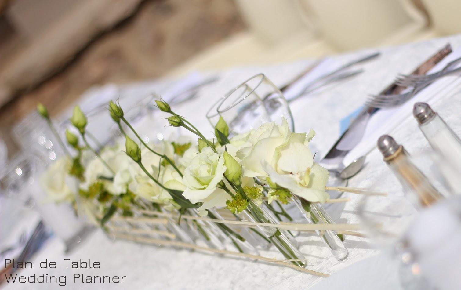 Plan de table le blog pr pas mariage floral design je ne sais pas quoi - Centre de table rectangulaire mariage ...