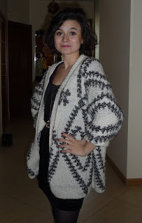 indiański wzór na swetrze