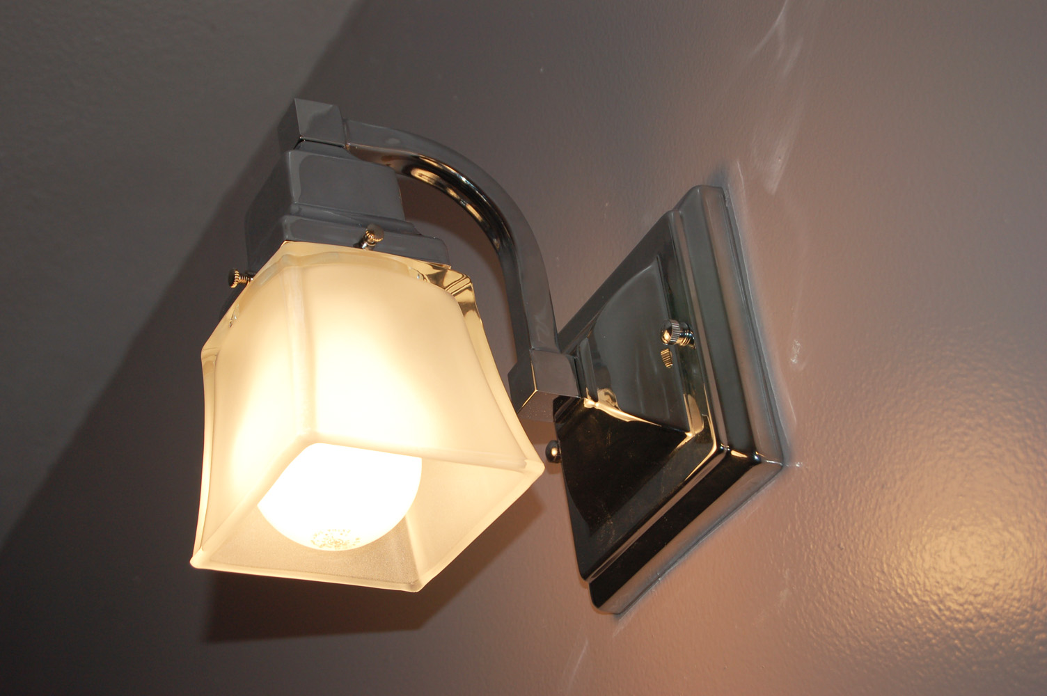 The almost perfectionist the bathroom - Paper light fixtures ...