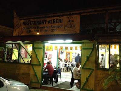 Entrée du restaurant Albéri