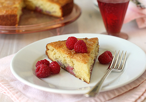 The Galley Gourmet: Raspberry Buttermilk Coffee Cake