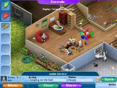 Virtual families 2 our dream house pc game download for Virtual families 2 decoration