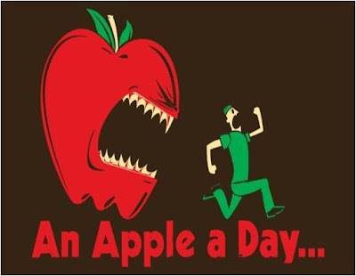 """An apple a day keeps the doctor away""""? Well I like the saying """"appl..."""