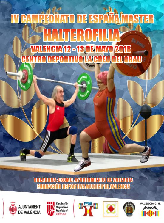 IV Campeonato España Halterofilia Máster Individual: