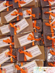 Jabon de chocolate y Naranja.