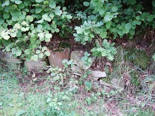 Oppidum Manching Bild 9: Ehemaliges Osttor nach Ausgrabung und Wiederherstellung