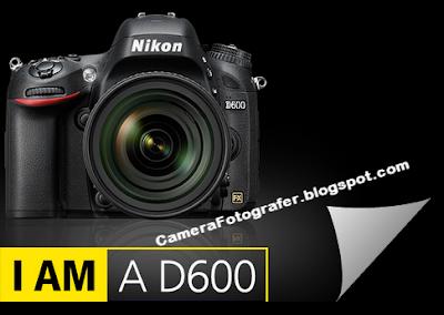 Spesifikasi dan Harga Kamera Nikon D600 Tahun 2015