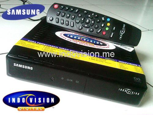 Decoder Samsung Indovision model SMT-S1081.
