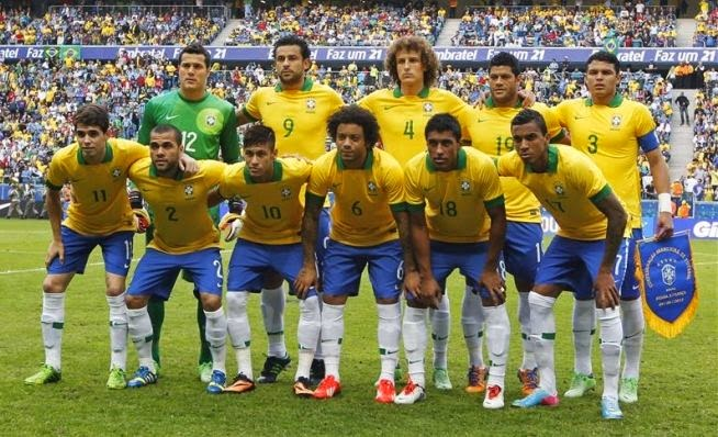 Squad and Lineups Brazil