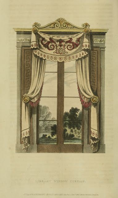 EKDuncan - My Fanciful Muse: Regency Era Curtains - Ackermann's ...