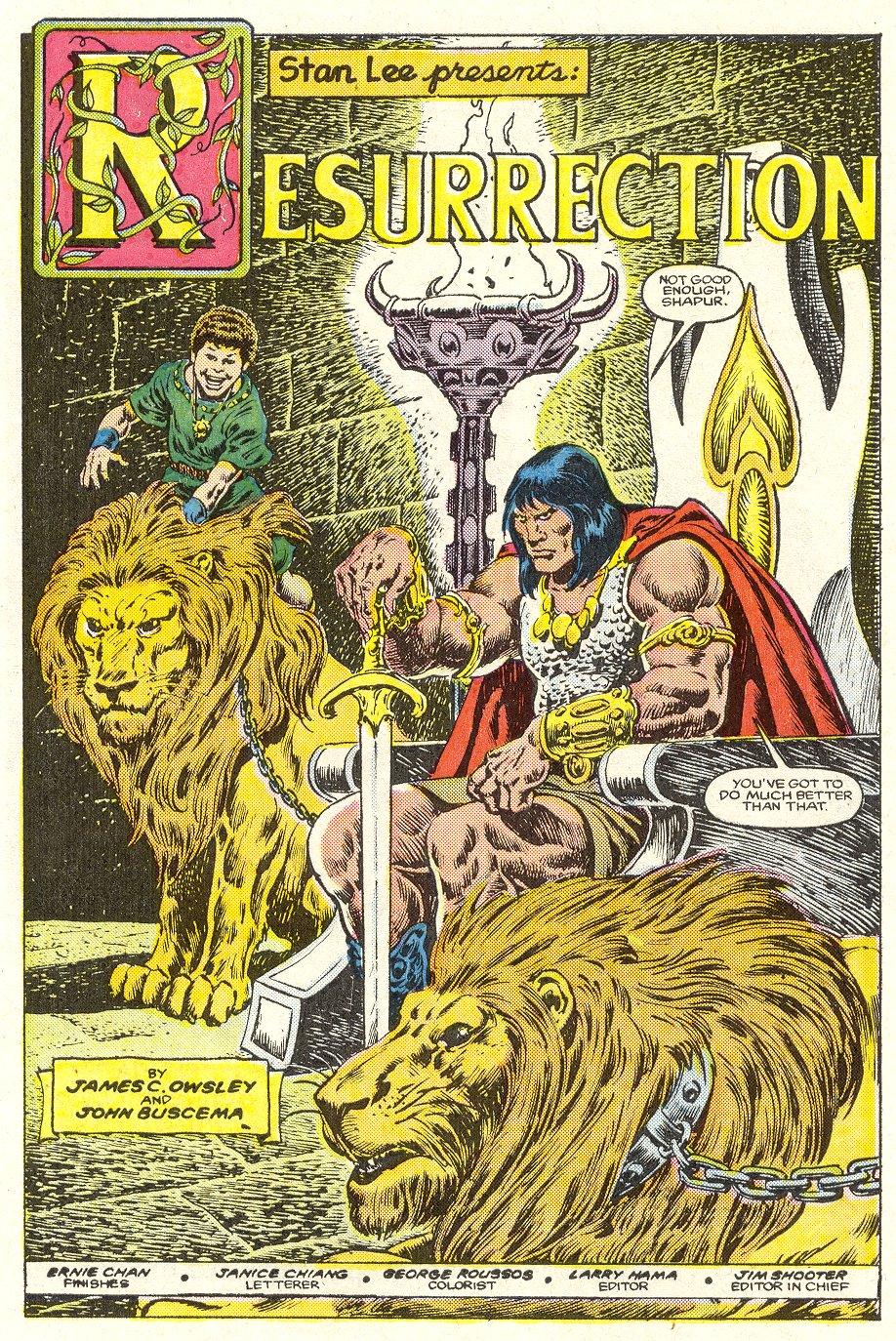 Conan the Barbarian (1970) Issue #187 #199 - English 6