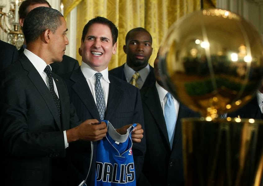 mark cuban with president obama, hover_share