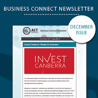 Image of the December Business Connect newsletter