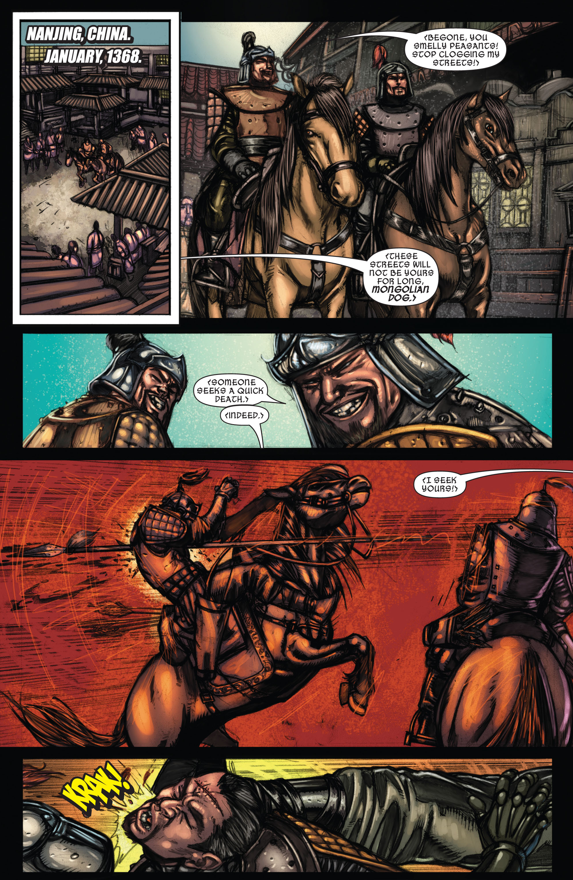 Read online Secret Invasion: The Infiltration comic -  Issue #9 - 3