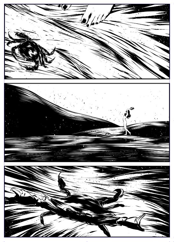 ©Mojo Wang - Mini Comic Story: Between Rivers #8