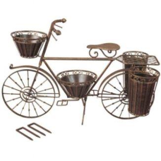 Recicla decora fusiona bicicletas ecol gicas - Maceteros metalicos ...