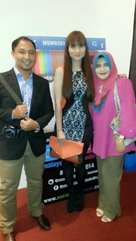 Sasha Saidin Malaysia Social Media Week 2014 MSMW 2014