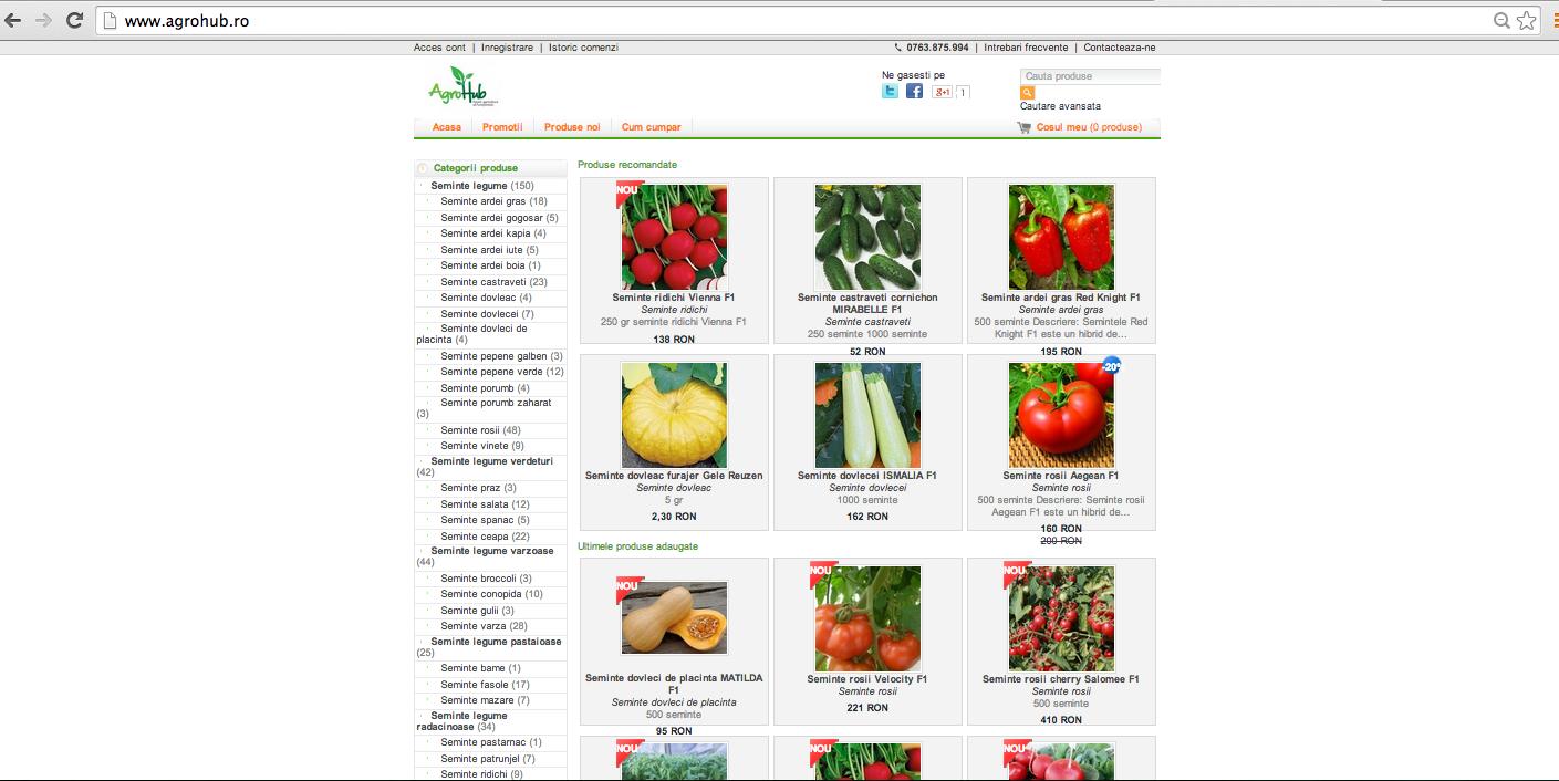 agro hub magazin agricol