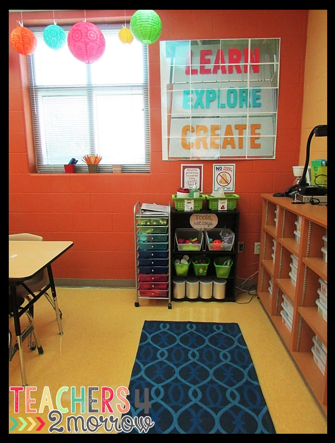 Classroom Design Tools : Teachers morrow special education classroom setup